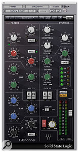 The Waves SSL E-Channel plug-in was used to compress the backing vocals.