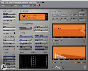 The lead vocal reverb for 'Beep' came from Digidesign's Revibe.