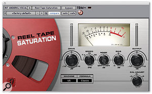 Very few plug-ins were used on the mix for 'The Pretender', but intro vocals were treated to Reel Tape Saturation and Pultec EQP1A, while a vocal overdub at the end of the track was processed with Sound Toys' Echoboy.