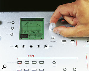 The Ion has superbly controllable envelopes, and editing them via the display is simplicity itself.