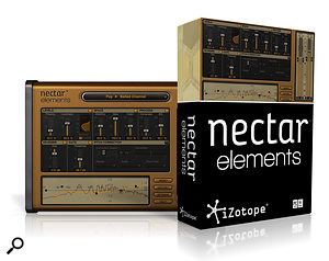 Izotope Nectar Elements vocal processor