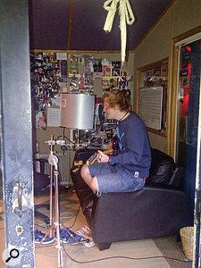 You can't keep Ed Sheeran from agood sofa...