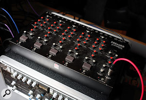 """""""Almost all of the things that I own are toys for musicians to play with, like old tape delays, spring reverbs, weird guitar pedals, synthesizers and guitar synths."""" Jim Abbiss's toys include an Echoplex delay and Premier Powerpak drum synth."""