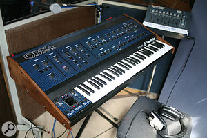 Jim's vintage Oberheim OBXa synth.