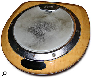 As well as a full drum kit, additional percussion included the Korg Wavedrum.