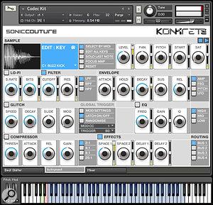 Soniccouture Konkrete 3 Electronic drum machine