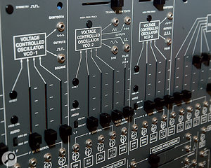 Tiresome to work on, but agreat instrument: the ARP 2600.