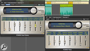 Once connected to your Mac, the PCM96 can be used just like any other DAW plug-in, although the hardware nature of the processing means that the number of plug-in instances is limited.