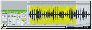 By manually setting bar and loop markers, you can create new loops from any audio on your hard drive.