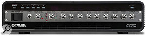Not limited to PA power amplifiers, Yamaha use a Class-D output stage in their BBT 500H bass head, claiming 500 watts and weighing less than 5 kilos!