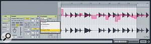 Automating the Sample Offset parameter shuffles the beats in a loop to create new patterns.