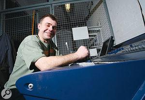 Chris Trimby: Monitor Engineer