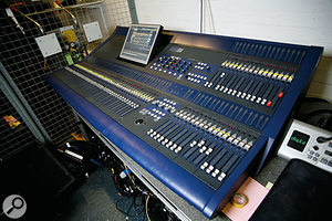 "Chris uses an Innovason SY80 digital console — ""an incredibly powerful machine"" — to mix the live acts on Top Of The Pops."