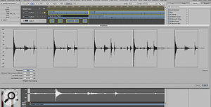 Trimming your tracks is the first step when editing drums. Strip Silence, shown here, makes this task simple, though you may have to experiment with the parameters to achieve the best results.