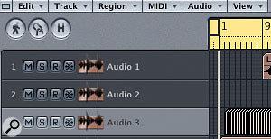 Audio Editing In Logic's Arrange Window