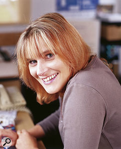 Marillion's fan-turned-manager Lucy Jordache.