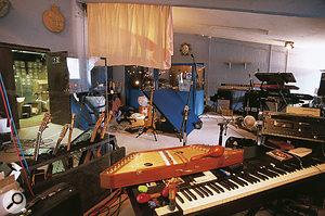 The huge live area in Marillion's Racket Club Studios.