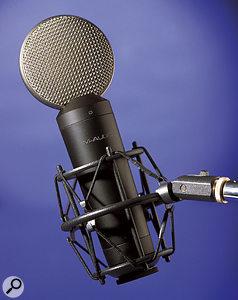M-Audio Luna microphone.