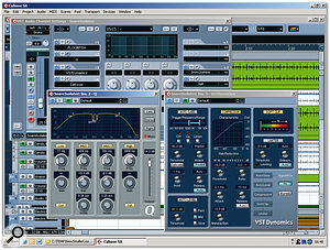 In order to change the snare sound within the mixed stereo drum recording, the snare was isolated on a duplicate track using gating, and then processed heavily with off-line pitch-shifting, EQ, compression, soft-clipping, and de-essing before being mixed back in. This track was also fed to the drum reverb send effects and faded up during choruses.