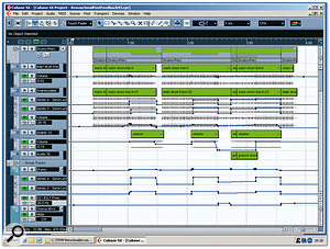Level and reverb-send automation helped to increase the contrast between the verse and chorus drum sounds.