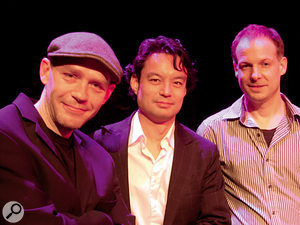 The Jesper Buhl Trio (left to right): Jesper Buhl, Rico De Jeer and Chris Barchet.