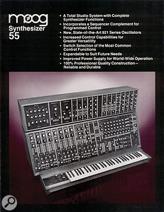... and an ad from the same year for the modular to end all modulars, the System 55.