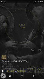 One of the selling points of MQA is 'authentication': when the MQA logo appears, as in these screen captures from Onkyo and Pioneer players, listeners can be certain they are listening to the audio file as the artist and mastering engineer intended.