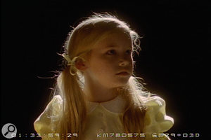 A promotional poster (top) for All Souls Day, Laura Storm's film about a mother (played by Heather MacAllister) coping with the loss of her daughter Alice (played by Taylor Spreitler, pictured above).