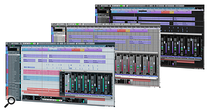 <strong>Cubase 6's new UI</strong>
