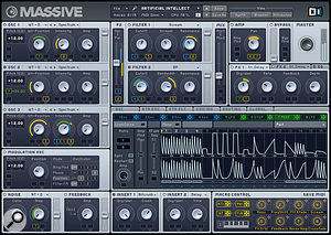 NI's forthcoming Massive soft synth is, well, massive...