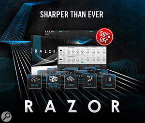 Native Instruments Razor 1.5 update and limited-time 50% discount