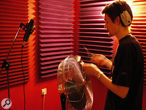 Much of the unusual percussion in the TV series soundtrack was replaced by live overdubs, often using unconventional sound sources, as Ed Scroggie demonstrates.