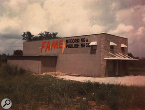 FAME Studios, Muscle Shoals, as it was in the 1960s.