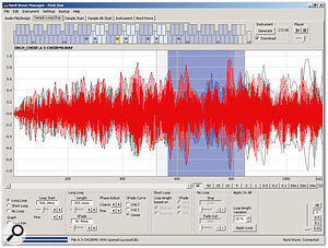 The Nord Wave's Wave Manager software provides simple but effective non-destructive sample editing, and also handles various library tasks.