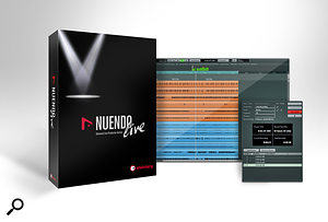 <strong>Live-recording DAW: </strong>Steinberg Nuendo Live