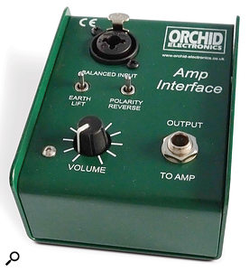 Orchid Electronics Amp Interface