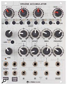Neutron Sound Orgone Accumulator module.