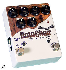 Tech 21 Roto Choir effects pedal.