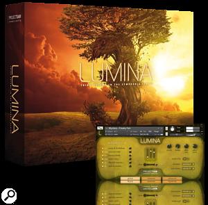 Lumina with screen grab
