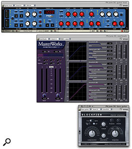 DP's bundled plug-ins, freeware VST or Audio Unit offerings and full-price third-party products all have their place in producing a great-sounding mix.
