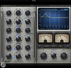 Waves RS56 EQ plug-in