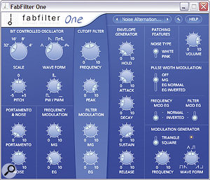 Fabfilter One.