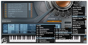 <em>PSP</em> offers plenty of choices for audio effects, even if the controls for each effect are a little basic.