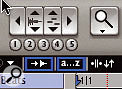 To the right of the Tab to Transient and 'A to Z keyboard focus' buttons (outlined in blue) is a button allowing you to unlink the Edit and Timeline Selections.