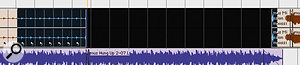 Trimming an individual Region within the loop changes the length of all the Regions. Pro Tools will also add or remove additional Regions so that the loop is still the same length.