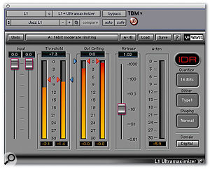 Pro Tools Mastering Limiter Shootout