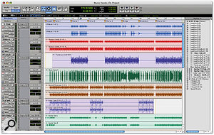 Using Region Groups In Pro Tools 7