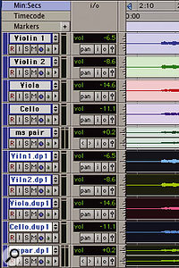 Moving the topmost duplicated track can then bring all the duplicates together...