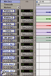 Finally, delete the audio from the tracks and you're ready to go.