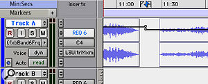 When using snapshot automation for mastering, it's important to make sure that snapshot changes fall in the gaps between songs.
